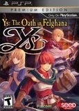 Ys: The Oath in Felghana -- Premium Edition (PlayStation Portable)