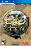 Ys: Memories of Celceta -- Silver Anniversary Edition (PlayStation Vita)