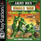 Army Men World War: Land Sea Air (PlayStation)