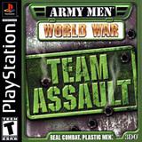 Army Men World War: Team Assault (PlayStation)