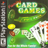 Family Card Games Fun Pack (PlayStation)