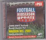 Football Midseason Update for Madden NFL 2001 (PlayStation)