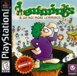 Lemmings & Oh No! More Lemmings (PlayStation)