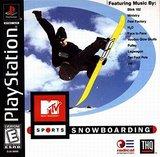 MTV Sports: Snowboarding (PlayStation)