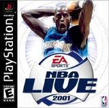 NBA Live 2001 (PlayStation)