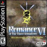 Romance of the Three Kingdoms VI: Awakening of the Dragon (PlayStation)
