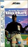 Frank Thomas: Big Hurt Baseball (Saturn)