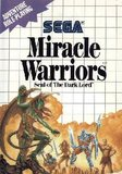 Miracle Warriors: Seal of the Dark Lord (Sega Master System)