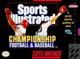 Sports Illustrated Championship Football & Baseball (Super Nintendo)