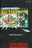 Super Mario All-Stars -- Manual Only (Super Nintendo)