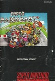 Super Mario Kart -- Manual Only (Super Nintendo)