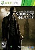 Testament of Sherlock Holmes, The (Xbox 360)