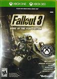 Fallout 3 -- Game of the Year Edition (Xbox One)