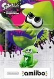 Amiibo -- Inkling Squid - Green (Splatoon Series) (other)
