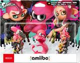 Amiibo -- Octoling Boy / Octopus / Octoling Girl - 3 Pack (Splatoon Series) (other)