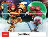 Amiibo -- Samus Aran & Metroid - 2 Pack (Metroid Series) (other)