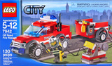 Toys -- Lego #7942: City Off Road Fire Rescue (other)