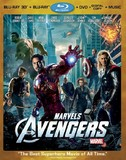 Marvel's  The Avengers -- Four-Disc Combo: Blu-ray 3D/Blu-ray/DVD + Digital Copy + Digital Music Download (Blu-ray 3D)