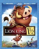 Lion King 1 1/2, The (Blu-ray)